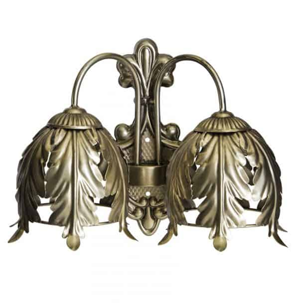 Gold lampe